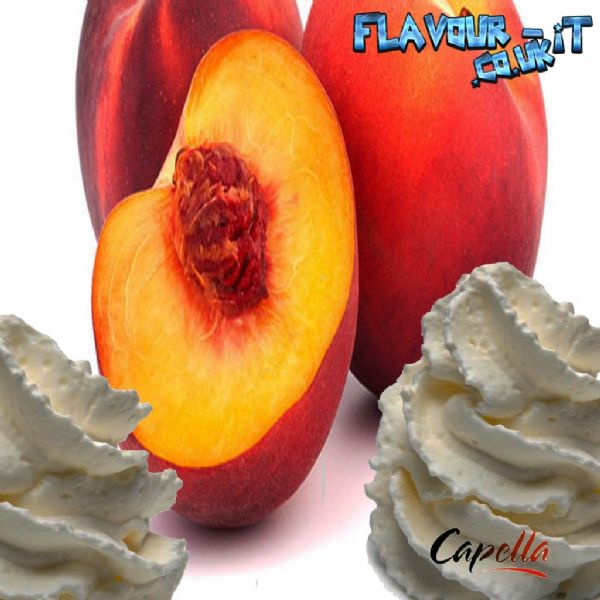 Capella Peaches and Cream V2 Flavour Drops